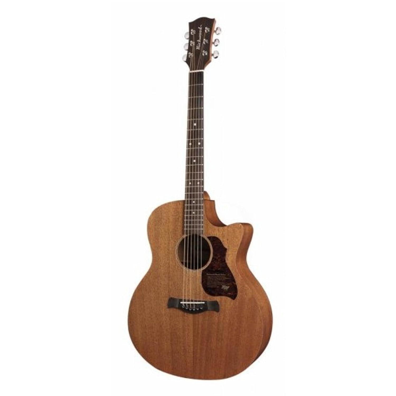 Richwood g-50-ce Grand Auditorium Guitarra acústica electrificada ...