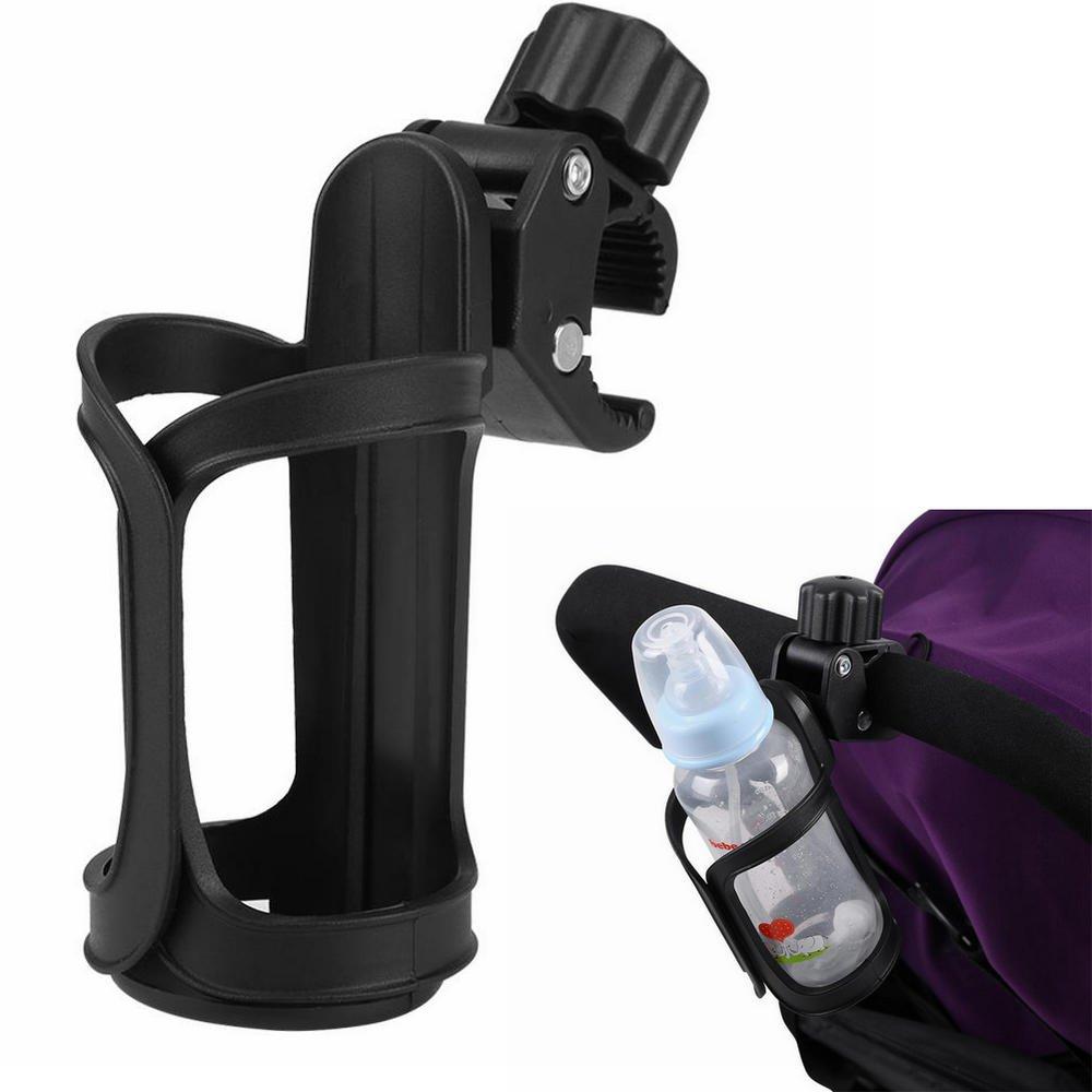 360 Degrees Adjustable Bottle Holder for Baby Stroller Pushchair Bike Universal Cup Storage Rack Yosoo®