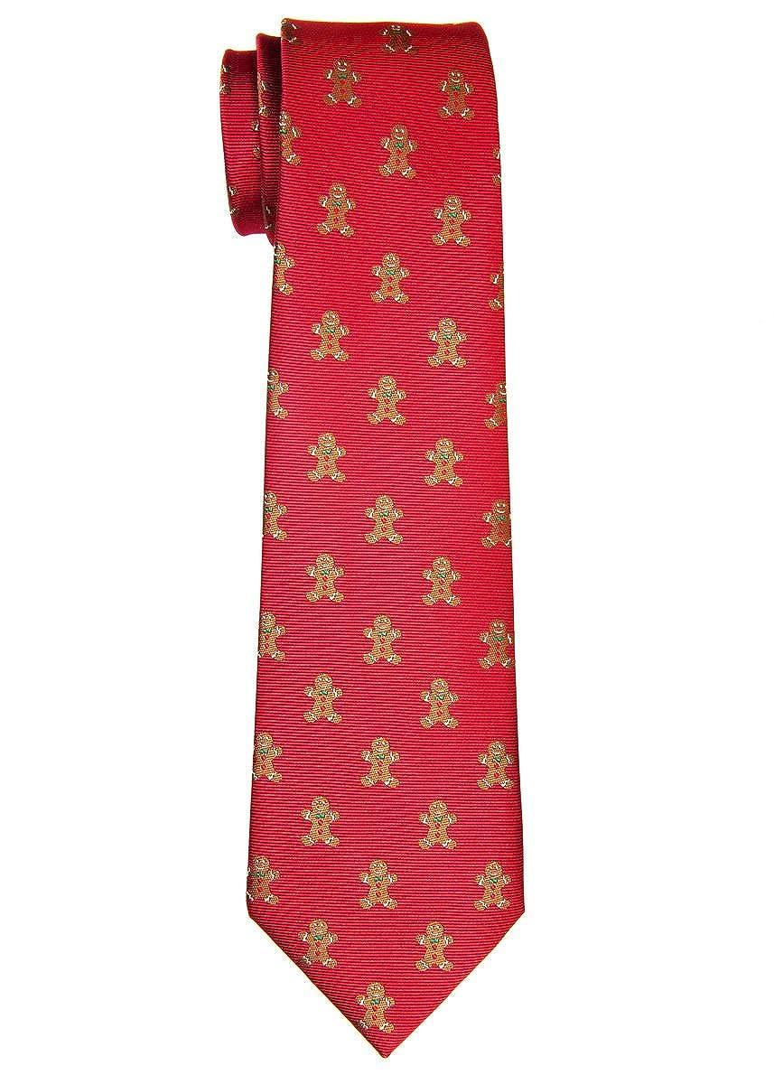Retreez Natale omino in tessuto microfibra cravatta da bambino –  8 –  10 anni RTZ-KDXMASTIE13-0003-GRN