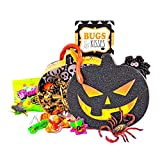 'Bugs and Kisses' Halloween Candy Chocolate Hershey Kisses Jack O' Lantern Gift Basket
