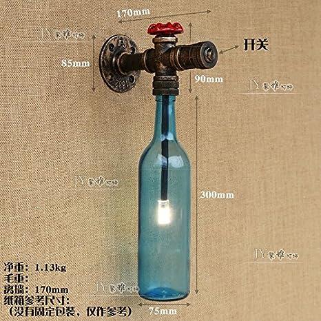 LIYAN lámpara de pared Aplique de pared Base E26/27 Rústico bar cafetería retro tiendas