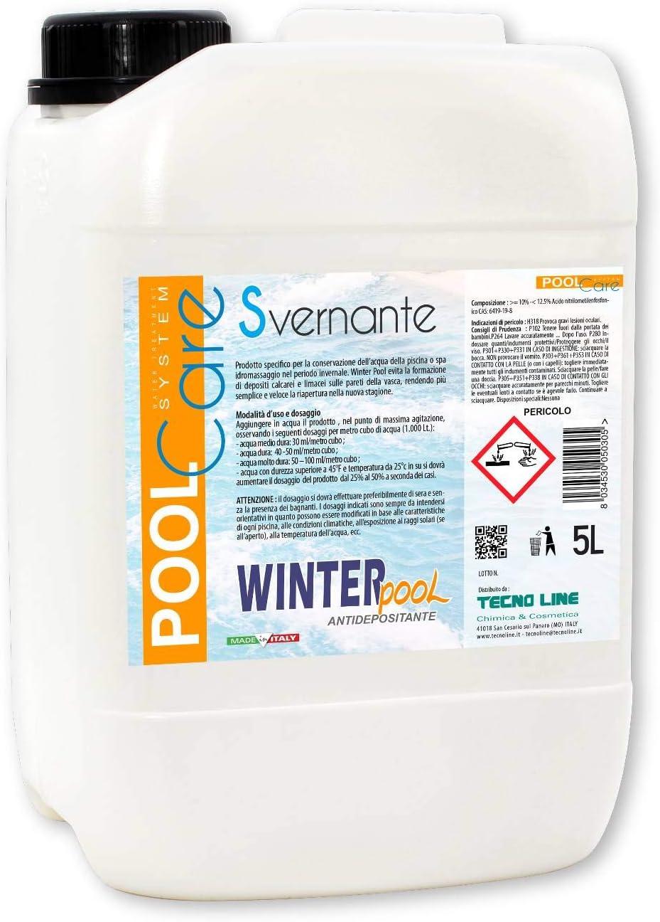 Invernante de acción antical y antidepósitos para piscina – Winter Pool 5 litros