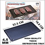 Defrosting Tray Aluminum Plate Fast Defrost Frozen Food Meats Steaks By Heat Transfer Thermal Conductivity Rapid Thawing Miracle Metal Thaw Speed Faster Than Natural Magic And Safest Way By Manka Chef