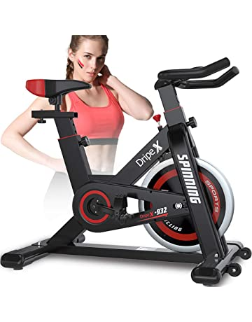 613b387c3e2 Dripex Upright Exercise Bikes (Indoor Studio Cycles) - Studio Quality with  Heart Rate Monitor