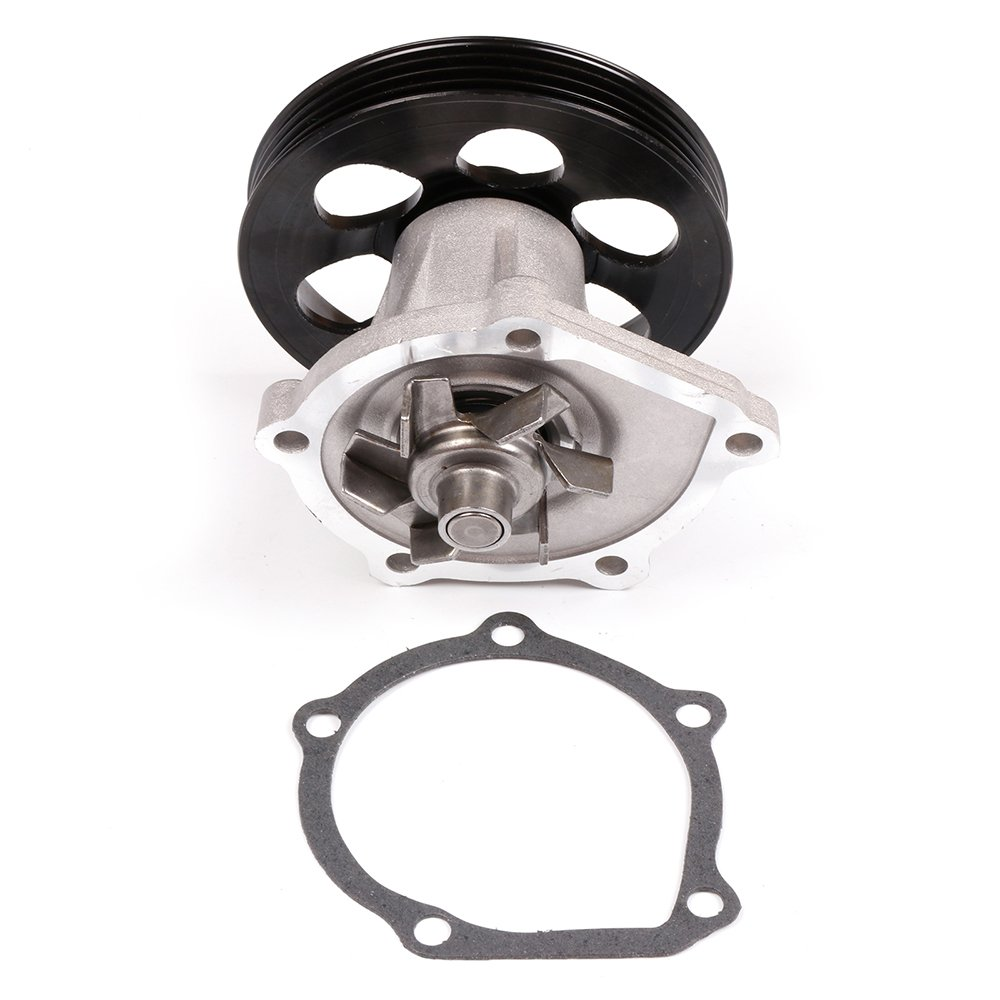 Code 5EFE 110259-5210-1050259651 cciyu Timing Belt Water Pump with Gasket Tensioner Bearing Fits 1995-1997 Toyota Paseo 1995-1998 Toyota Tercel 1.5L L4 ENG