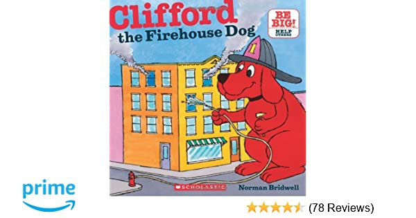 Clifford The Firehouse Dog 8x8 Norman Bridwell 8601401034001 Amazon Books