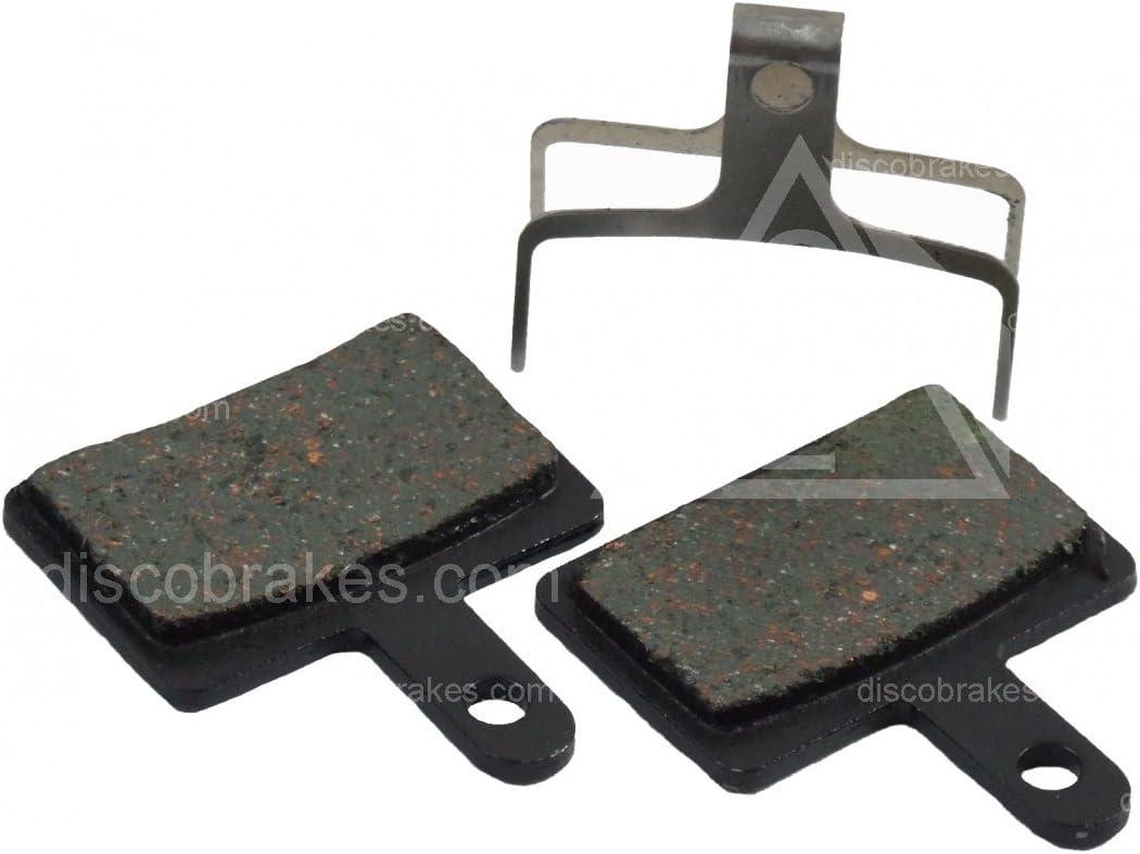 Auriga IOX IOX.11 N11 N11.11 en Kevlar compuestos sinterizados o Semi-Met/álica F1 Performance Disc Brake Pads DiscoBrakes Pastillas de freno para todos los modelos de bicicletas Frenos Tektro