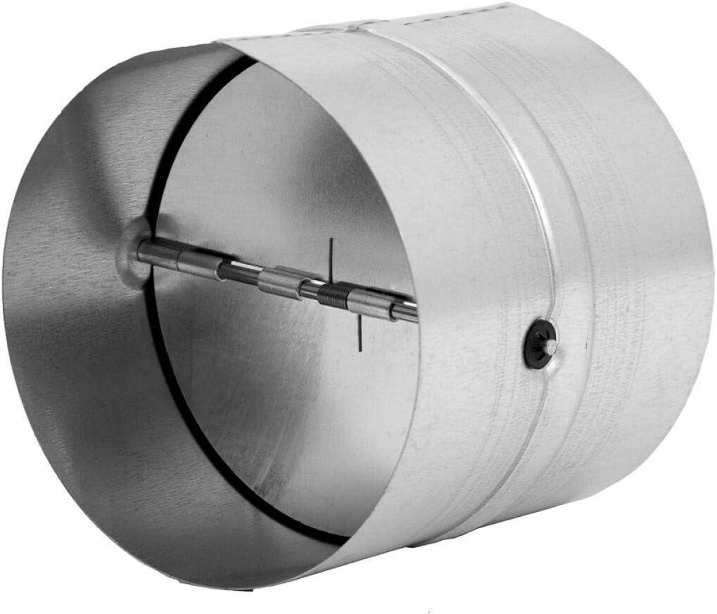 """FANTECH RSK 5 Backdraft Damper 5/"""" Diameter Duct Galvanized"""