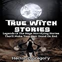 True Witch Stories: Legends of the Hags: Horrifying Stories That'll Make Your Hair Stand on End: True Hauntings, Book 1 Audiobook by Hector Z. Gregory Narrated by Dave Wright