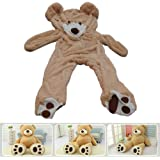 """78""""(6.5 Feet) Giant Teddy Bear Cover ( Only Outer Shell with Zipper ) 200cm"""