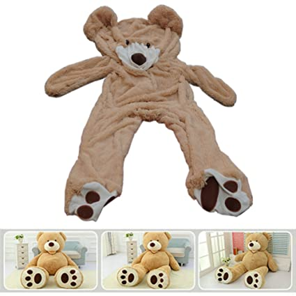 276f077eb04 78 quot (6.5 Feet) Giant Teddy Bear Cover ( Only Outer Shell with Zipper