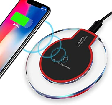 ULTRICS Cargador Inalámbrico, Qi Habilitado Wireless Charger ...