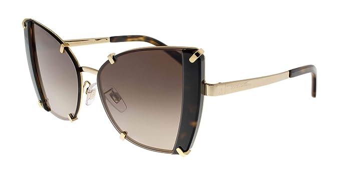 Dolce & Gabbana 0DG2214 Gafas de sol, Gold/Havana, 53 para ...