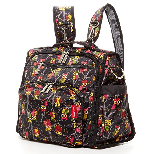 Diaper Bag Backpack For Mom Convertible Bags for Girls Multi