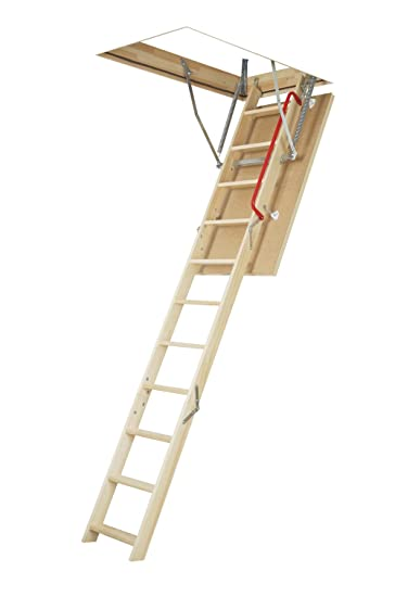 FAKRO 66802 Insulated Attic Ladder For 25 Inch X 47 Inch Rough Openings