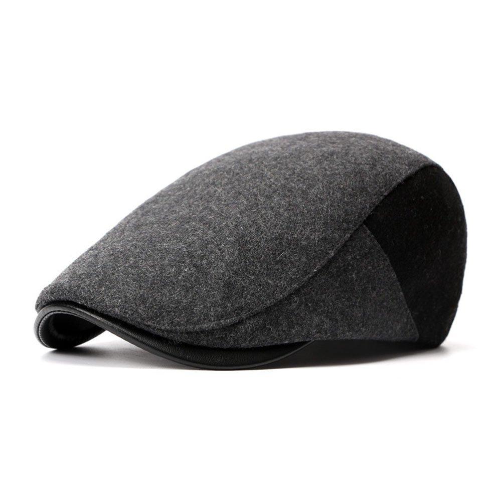 Anshili Cappellini Uomo Spessore Cappello per linverno Basco Donna