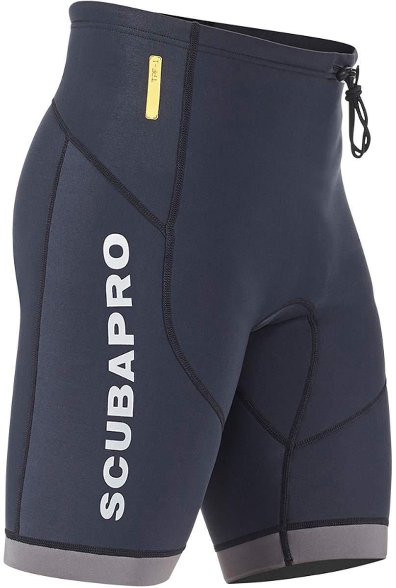 Scubapro Men's 1.5mm Everflex Shorts (Large, Black)