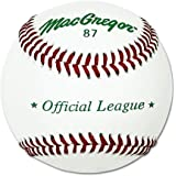 MacGregor 87 Official Split Baseball, Leather (One Dozen)