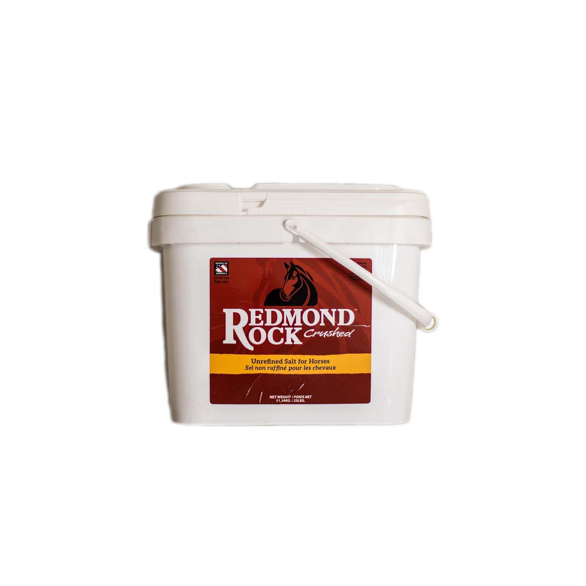 Redmond - Rock Crushed Loose Mineral Salt for Horses, 25 lb. bag by REDMOND