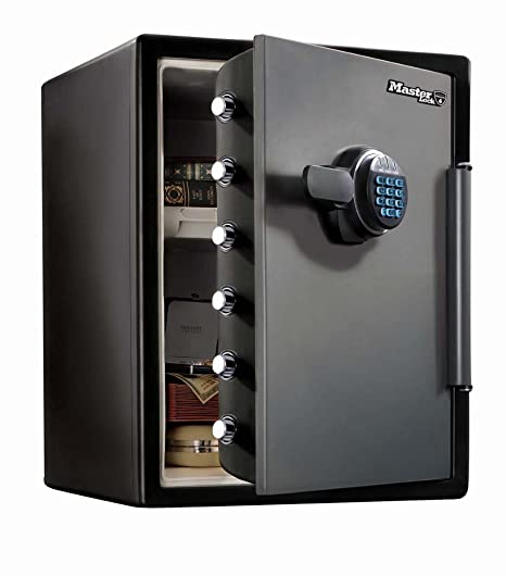Fire Resistant/fireproof Water Resistant Safe With Light Up Programmable  Electronic Lock   Size