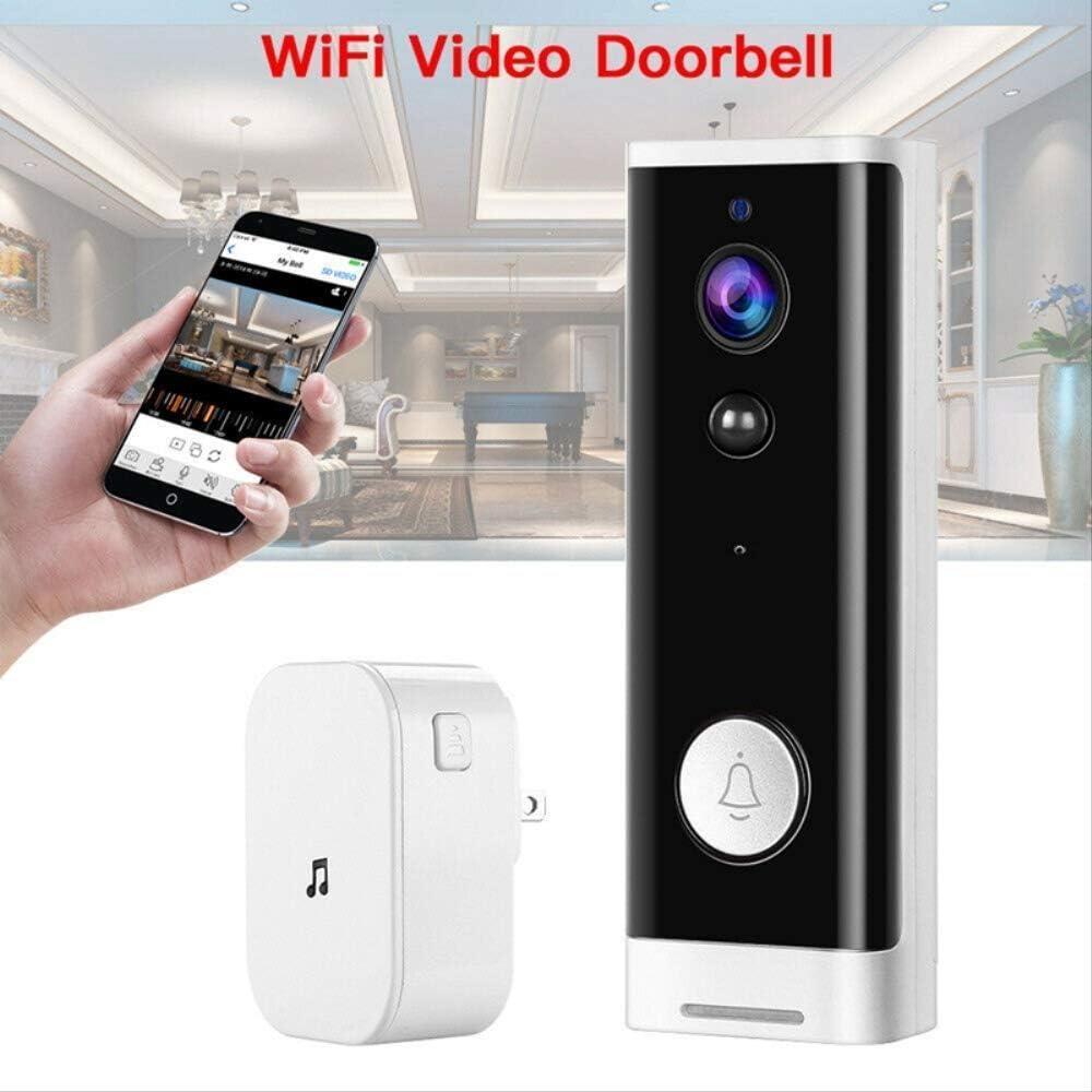 Videocitofono Wifi Campanello Per Videocamera Di Sicurezza Intelligente Senza Fili Campanello Per Rilevamento Del Movimento Campanello Per Visione Notturna A