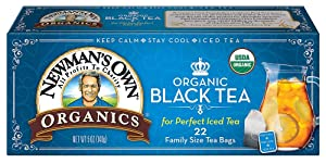 Newman's Own Organic Black Tea Family Size (3x22 ct)