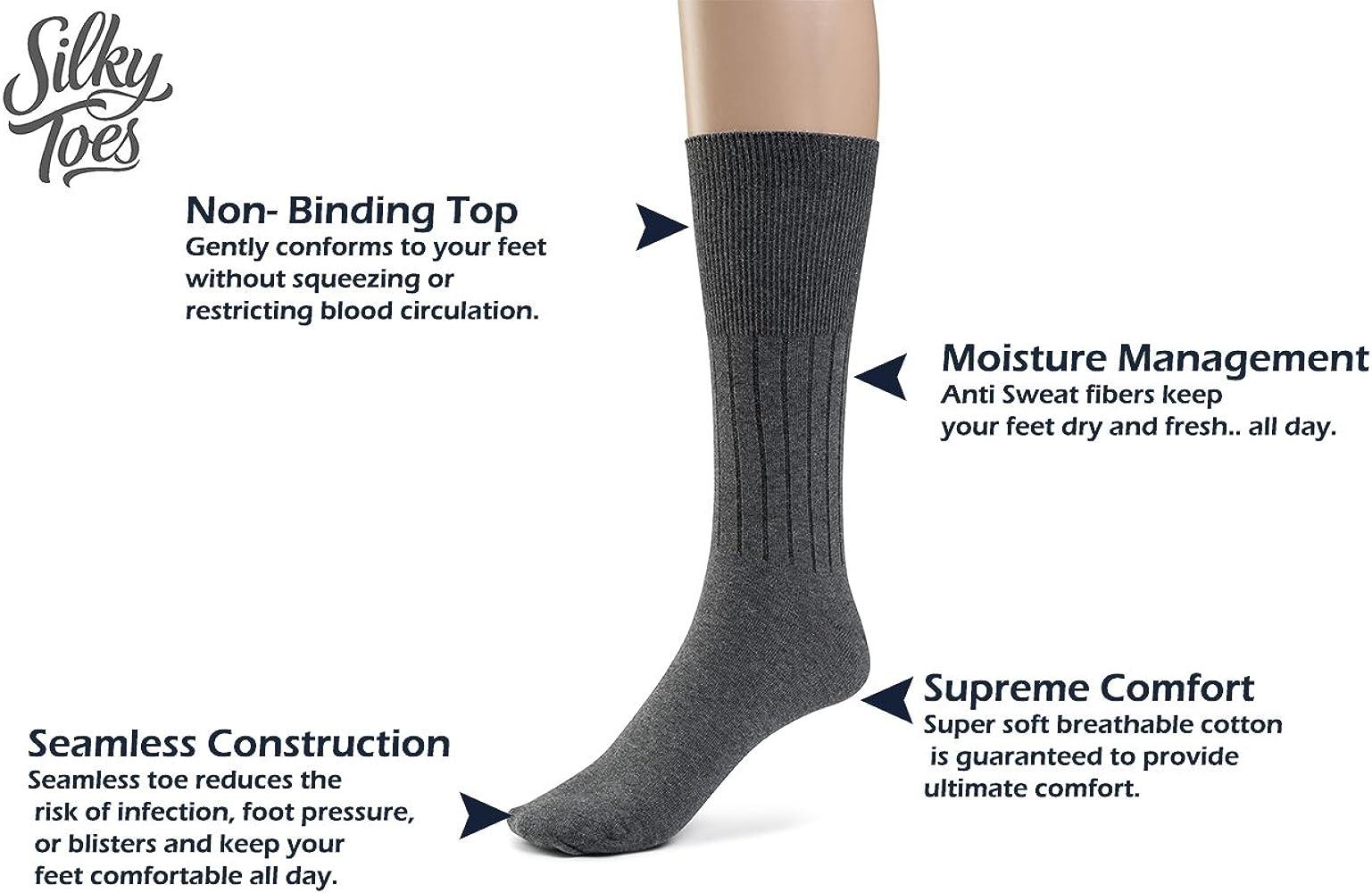 10pcs  Women Velvet Silk Socks Cotton Bottom Non Slip Sole Massage Socks RDBD