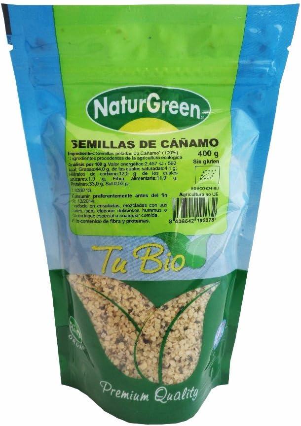 Semillas de Cañamo Bio Naturgreen 400g