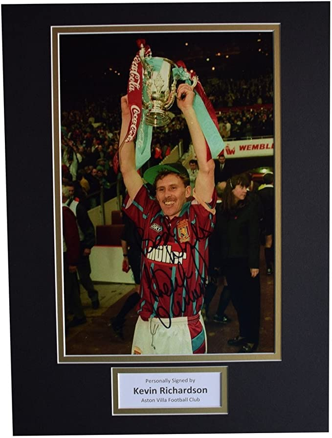 Kevin Richardson - autógrafo de la Marca SportagrGráfics, 16 x 12 ...