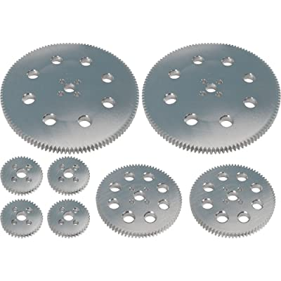Pitsco TETRIX Gear Pack (40, 80, and 120-tooth): Industrial & Scientific