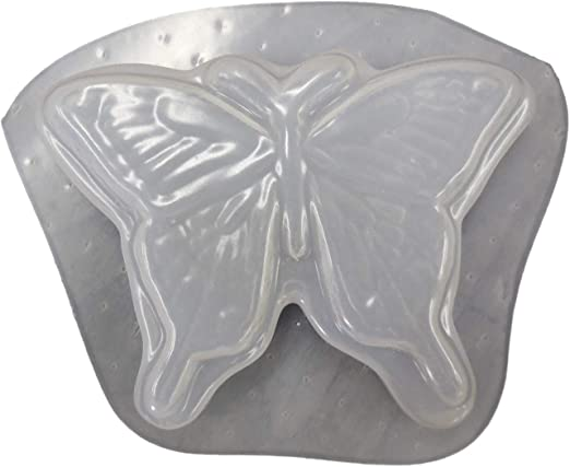 """Butterfly plastic mold cement plaster craft mould 6/"""" x 4/"""" x 1//3/"""" thick"""