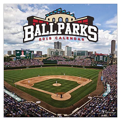 2019 Ballparks Wall Calendar