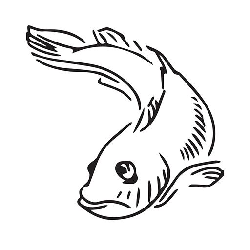 Carpmoji - Carp fishing emojis (Photo Rod Mirror A)