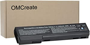 OMCreate 628668-001 628666-001 Battery Compatible with HP EliteBook 8460P 8470P 8560P 8570P; HP ProBook 6470B 6570B 6460B 6560B 6360B,fits P/N CC06 CC06XL QK642AA - 12 Months Warranty
