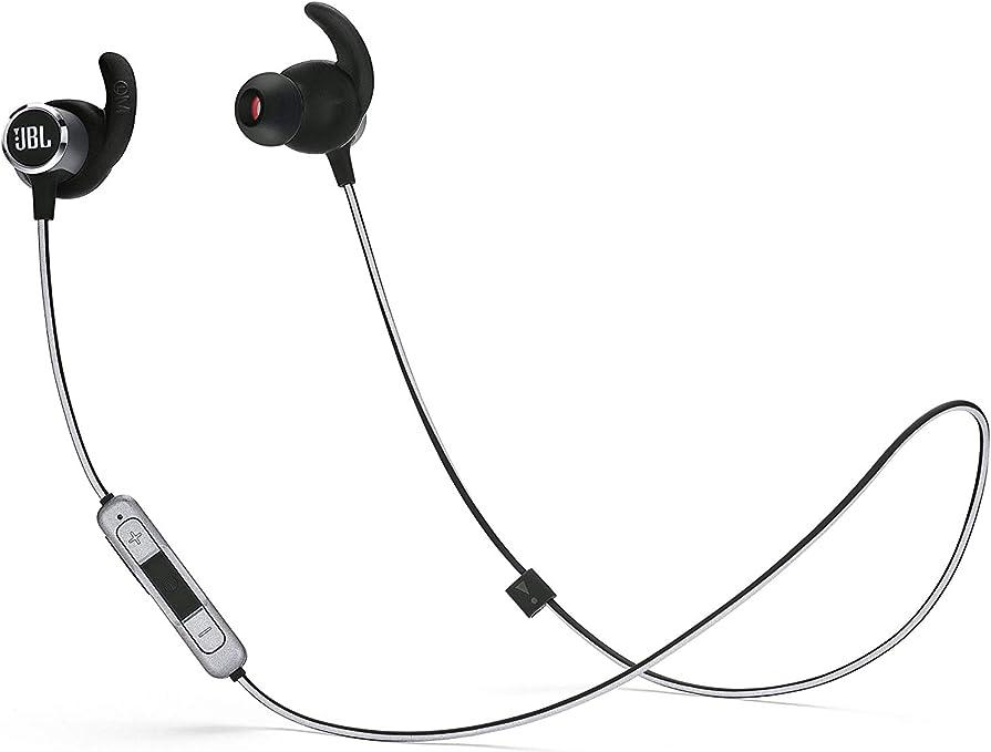 JBL Reflect Mini 2 – Écouteurs de Sport Bluetooth – Légers, Confortables et Résistants – Kit Mains Libres & Assistant Vocal – Autonomie 10hrs –