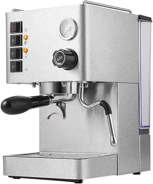 Máquina de café espresso Máquina semiautomática italiana Cafeteras ...