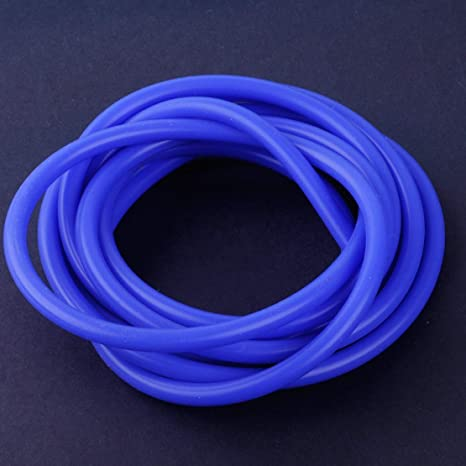 3 METRE BLUE SILICONE VACUUM HOSE AIR ENGINE BAY DRESS UP 4MM FIT BMW