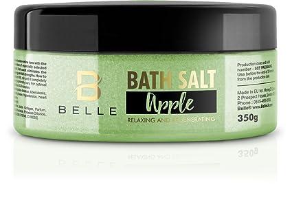 Sal de baño Belle® Apple – Vela de aromaterapia Mineral eliminar el estrés y la