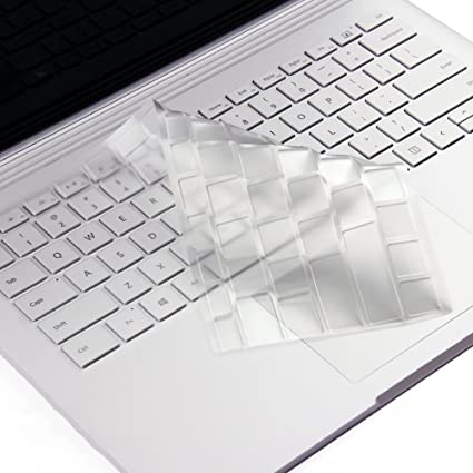 "TPU Keyboard Guard Protector Skin Fit Microsoft SURFACE BOOK 2 13.5/' 15/"""
