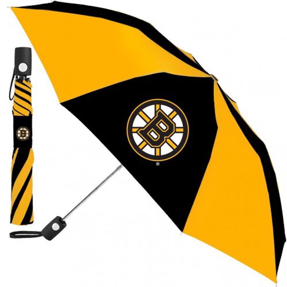 Boston Bruins NHL 42インチ自動折り畳み傘   B01BXTPGZU