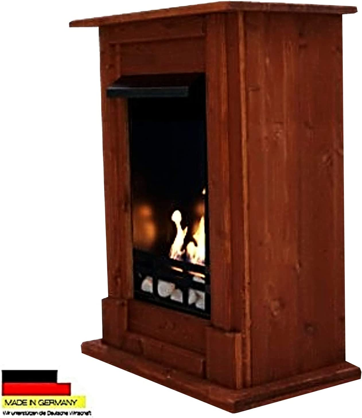 Amazon Com Gel Ethanol Fire Places Fireplace Madrid Cherry Home Kitchen