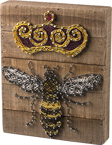 Primitives By Kathy, String Art - Queen Bee]()