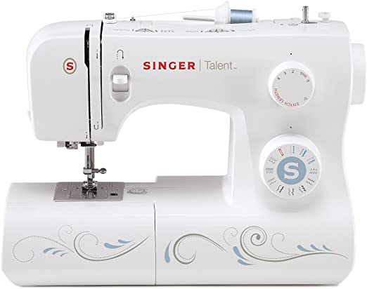 Singer Maquina de Coser Talent 3323, Blanco, 45,7 x 22,2 x 35,6: Amazon.es: Hogar