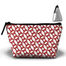Switzerland Shine Pattern Cosmetic Bag Makeup Bags Pouch Stationery Bag Pencil Base Learning Bools Handbag Organizer Bag
