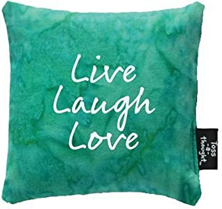 "product image for Imagine Design 3.5"" x 3.5"" x 1"" Live Laugh Love Toss-A-Thought Bag"