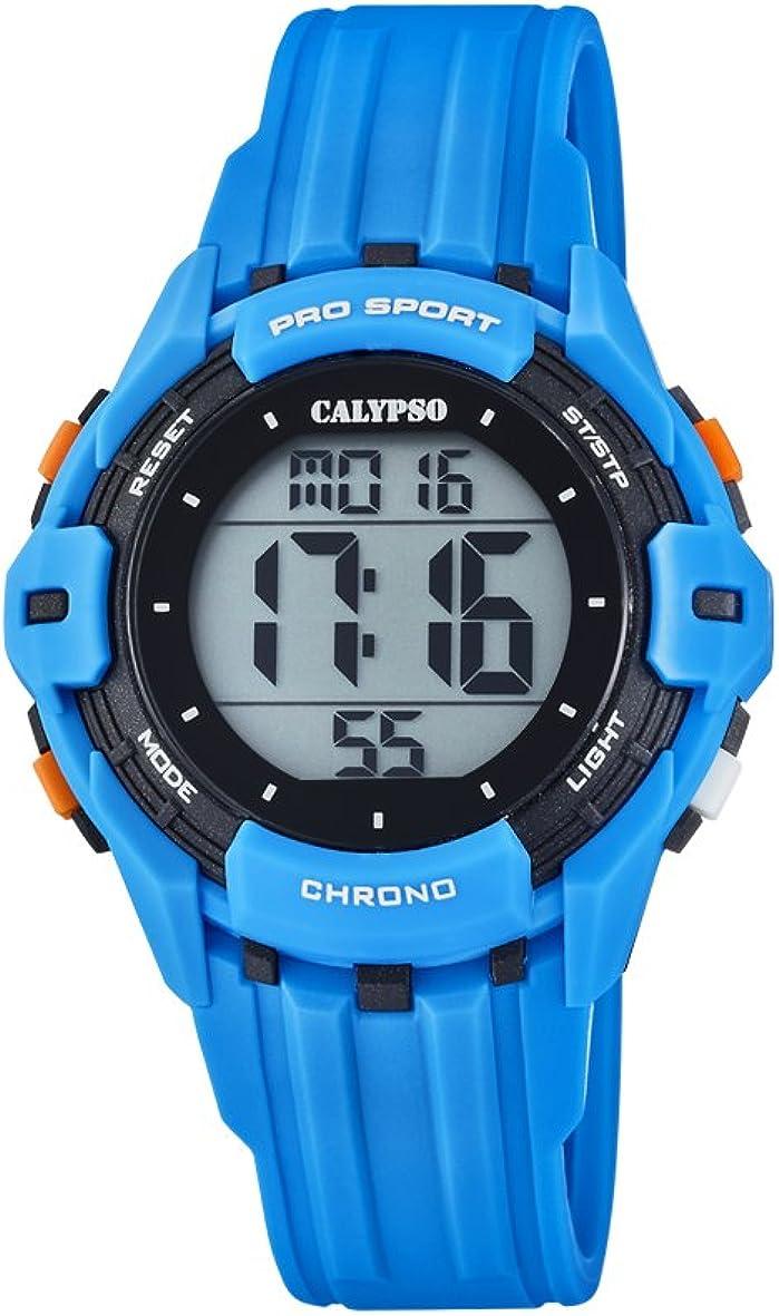Calypso Reloj Digital para Hombre de Cuarzo con Correa en Plástico K5740/2