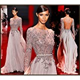 Customized Simple Beauty Evening Dress Party Dress Lace Wedding Dresses