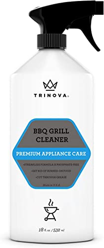 TriNova Grill Cleaner Spray for BBQ