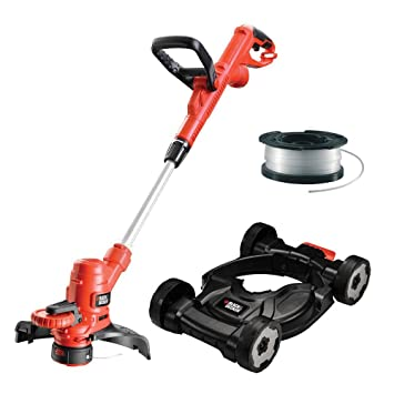 Black+Decker 3-in-1 MultiTrimmer - Cortacésped rotativo (li ...