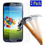 2x Samsung Galaxy S4 mini plt24 Ultra-Klar Glasfolie Panzerglas Schutzfolie Displayschutzglas Schutzglas Hartglas für Samsung Galaxy S4 mini (2 Stück)